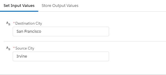 GetDistance Input Values